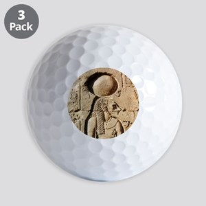 Sekhmet Lioness Goddess of Upper Egypt Golf Balls