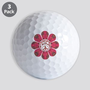 Peace Flower - Affection Golf Balls