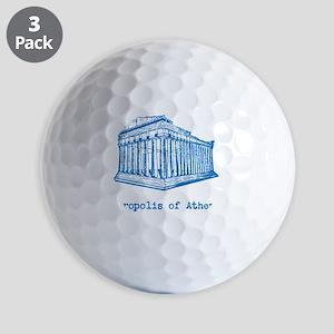 Acropolis of Athens Golf Balls