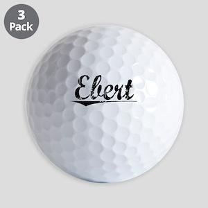 Ebert, Vintage Golf Balls