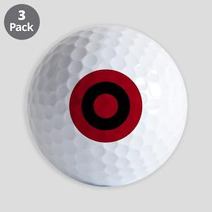 Albanian AF roundel Golf Balls
