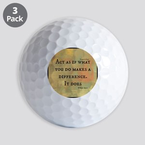 You Make a Difference Golf Balls