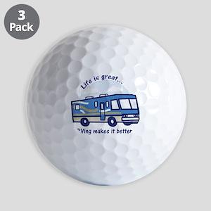 RVinggreat Golf Balls