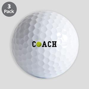 Tennis Coach Golf Balls