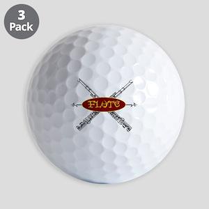 Flute Tribal Golf Ball