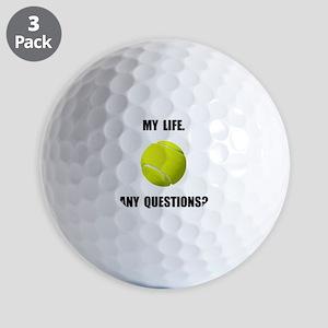My Life Tennis Golf Ball