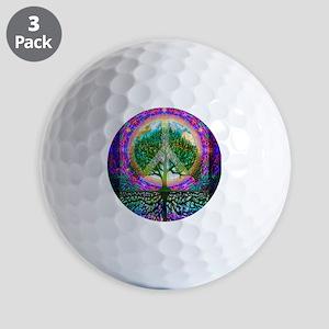 Tree of Life World Peace Golf Ball