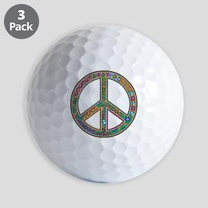 Peace Golf Balls