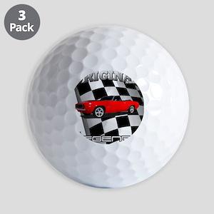 Musclecar 1969 Top 100 Golf Ball