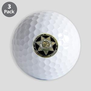 California Peace Officer Golf Ball