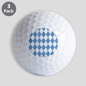 UNC Carolina Blue Argle Basketball Golf Ball
