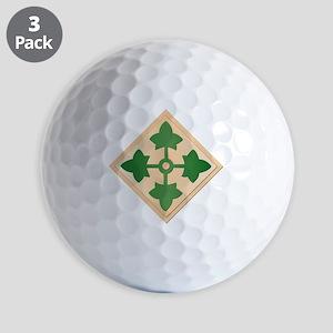SSI - 4th Infantry Division Golf Balls