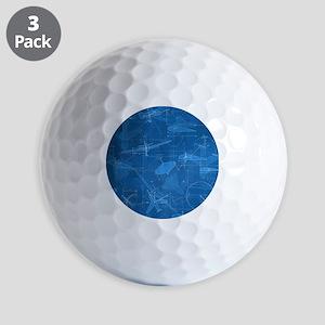 Aerodynamics Golf Ball