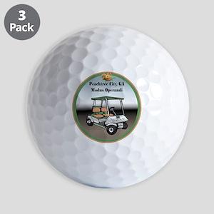 Peachtree City, Georgia Golf Ball
