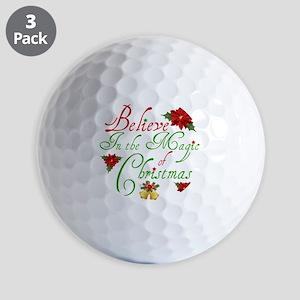 Believe In The Magic Golf Ball