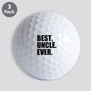 Best Uncle Ever Golf Balls