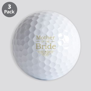 Mother of the Bride gold Golf Balls