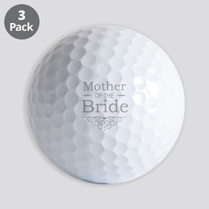 Mother of the Bride silver Golf Balls