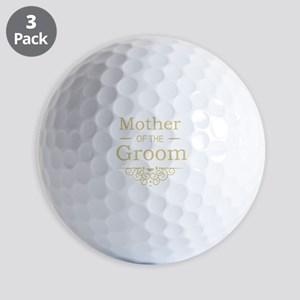 Mother of the Groom gold Golf Balls