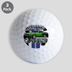 Classic Musclecar Golf Balls