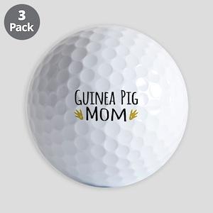 Guinea pig Mom Golf Ball