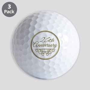 26th Anniversary Golf Ball
