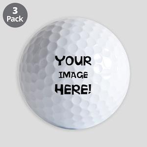 Customizable Image Golf Ball