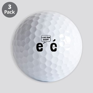 Love Accent Golf Ball