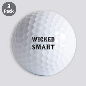 Wicked Smaht Golf Ball