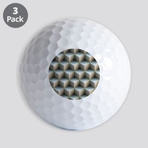 Ambient Cubes Golf Ball