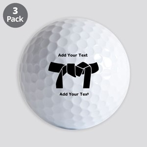 Black Belt Golf Ball