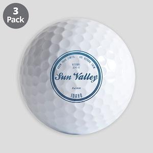 Sun Valley Ski Resort Idaho Golf Ball
