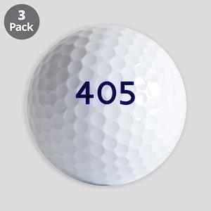 405 blue Golf Ball