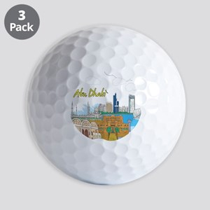 Abu Dhabi in the United Arab Emirates Golf Ball