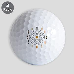 Circle of Whiskey 5th Golf Ball
