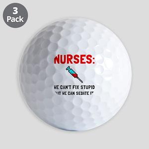 Nurses Sedated Golf Ball