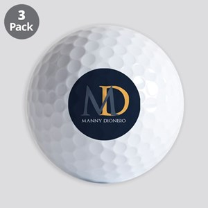 Elegant Custom Monogram Golf Balls
