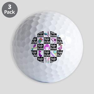 FOXY HAIR STYLIST Golf Balls