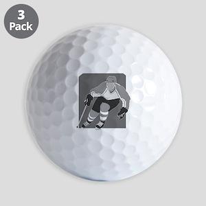 hockey player Golf Ball