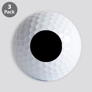 Solid Black Color Golf Ball