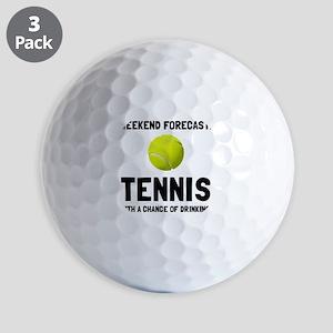 Weekend Forecast Tennis Golf Ball