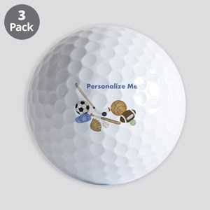 Personalized Sports Golf Balls
