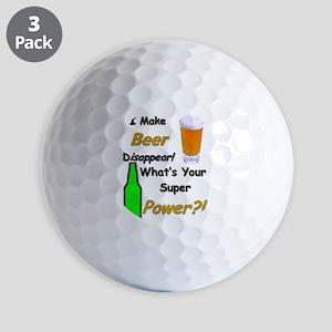 I Make Beer Disappear.. Golf Ball