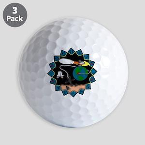 MUOS-3 Golf Balls