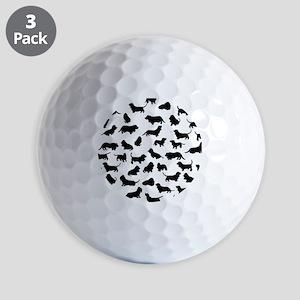 Basset Hounds Golf Balls