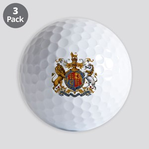 British Royal Coat of Arms Golf Balls