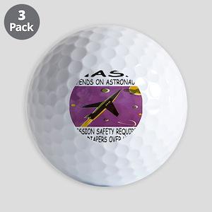NASA-Uranus Golf Balls