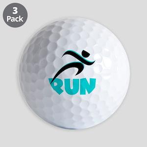RUN Aqua Golf Balls