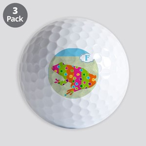 F is for Frog Golf Balls