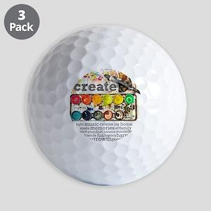 Create Golf Balls